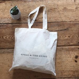 Spell and Gypsy free tote gift with spell purchase